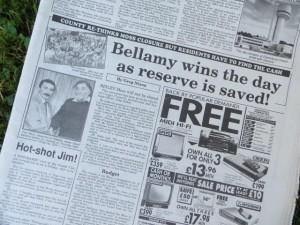 bellamy saves the moss 1991